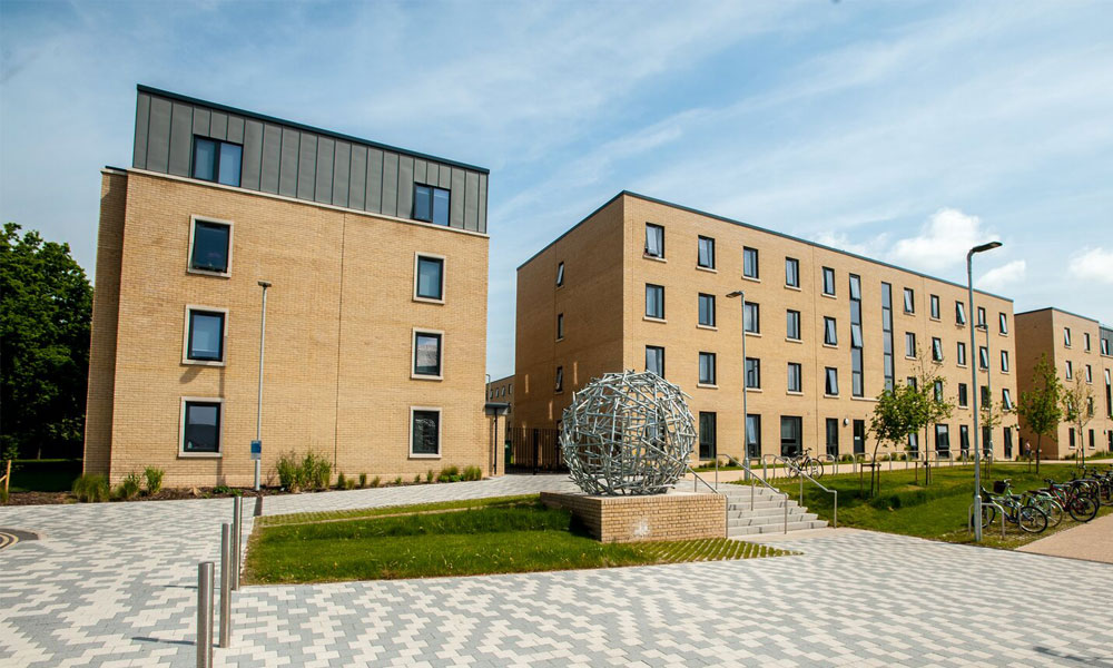 Pittville student village halls of residence