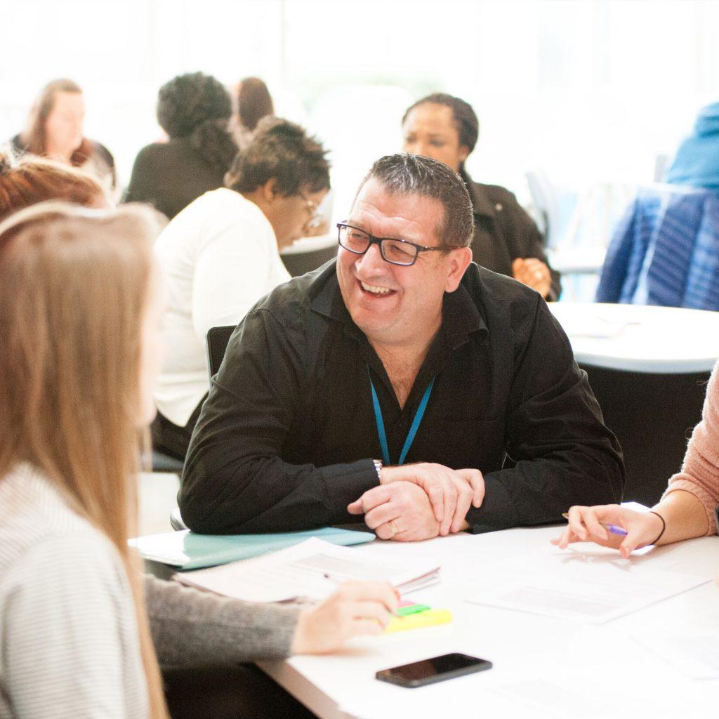Mental Health Nursing lecturer smiling