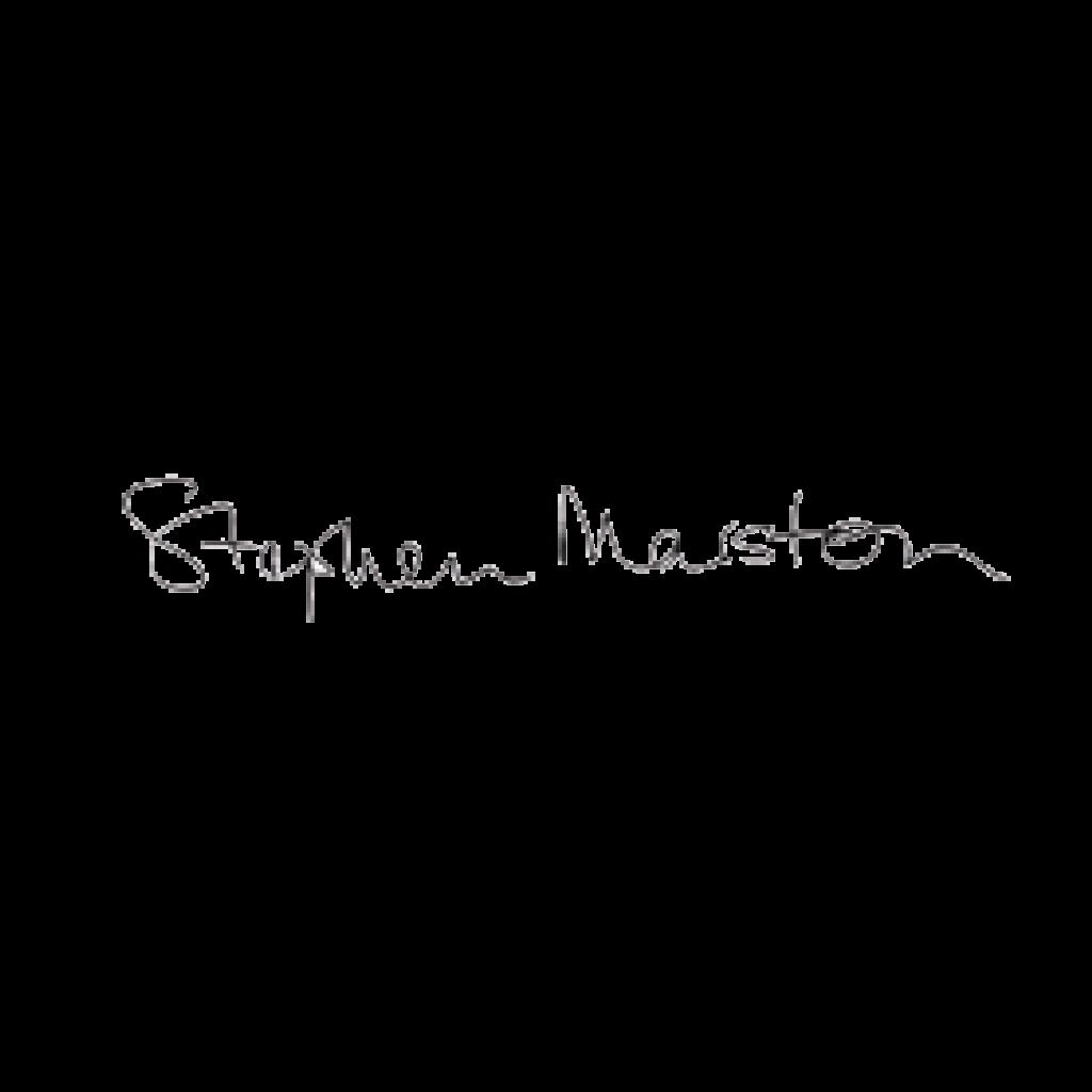 Signature for Stephen Marston