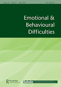 Journal Cover: Emotional & Behavioural Difficulties