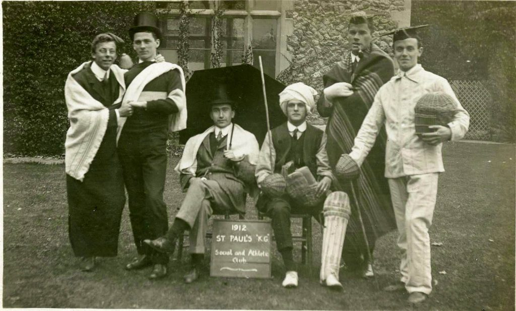 St. Paul's Social and Athlete Club, 1912
