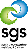 South Gloucestershire and Stroud College (SGS) logo