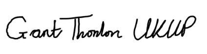 Grant Thornton signature