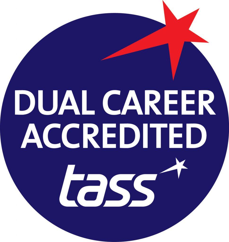 Talented Athlete Scholarship Scheme (TASS) logo