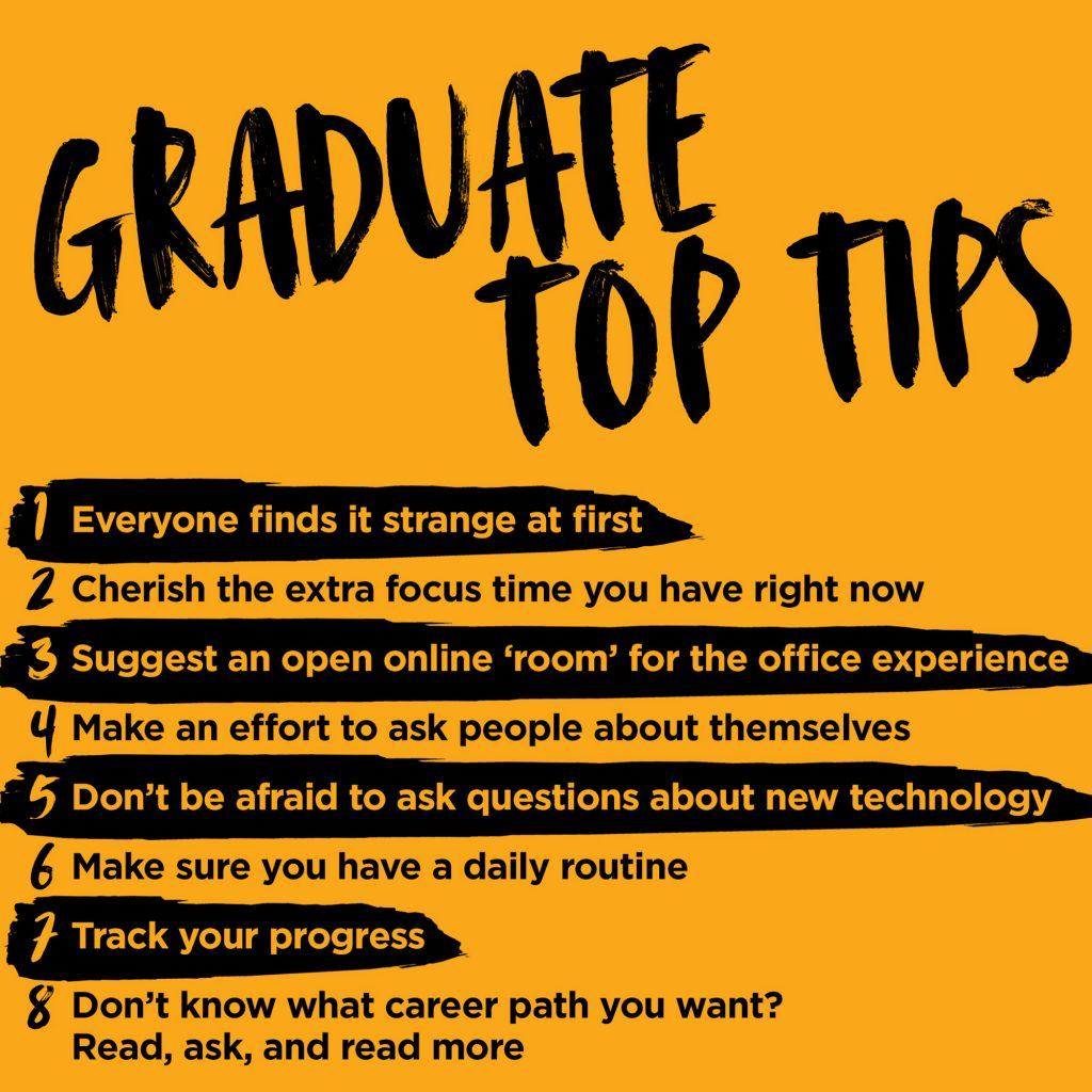 Graduate Top Tips