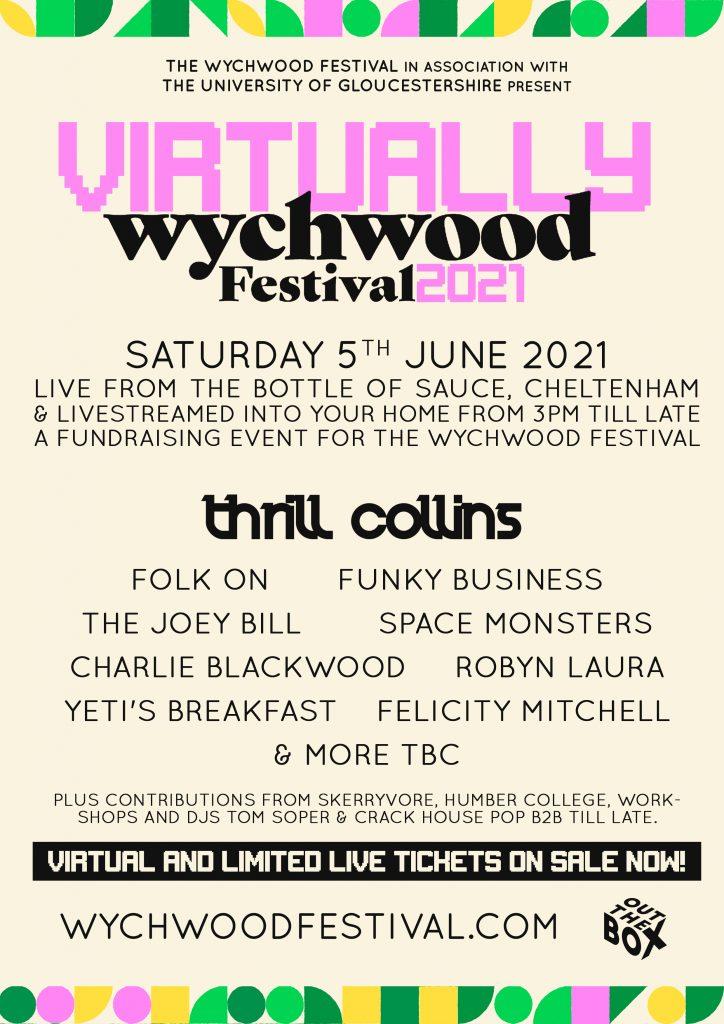 Virtually Wychwood Festival 2021 Poster